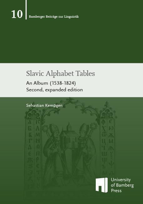 Slavic Alphabet Tables als Buch