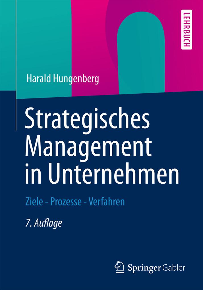 Strategisches Management in Unternehmen als eBook