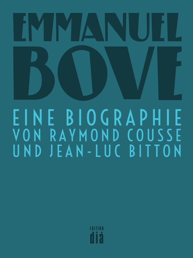 Emmanuel Bove als eBook