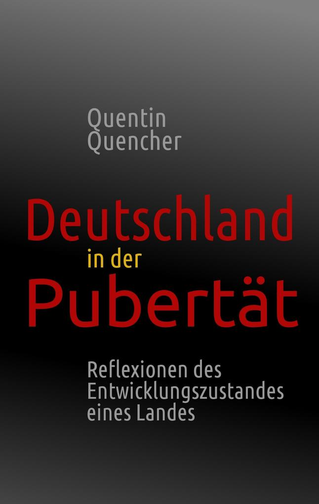 Deutschland in der Pubertät als Buch