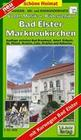 Wander-, Ski- und Radwanderkarte Vogtländische Musik- und Bäderregion mit Ortsplan Bad Elster/Ringweg 1 : 35 000