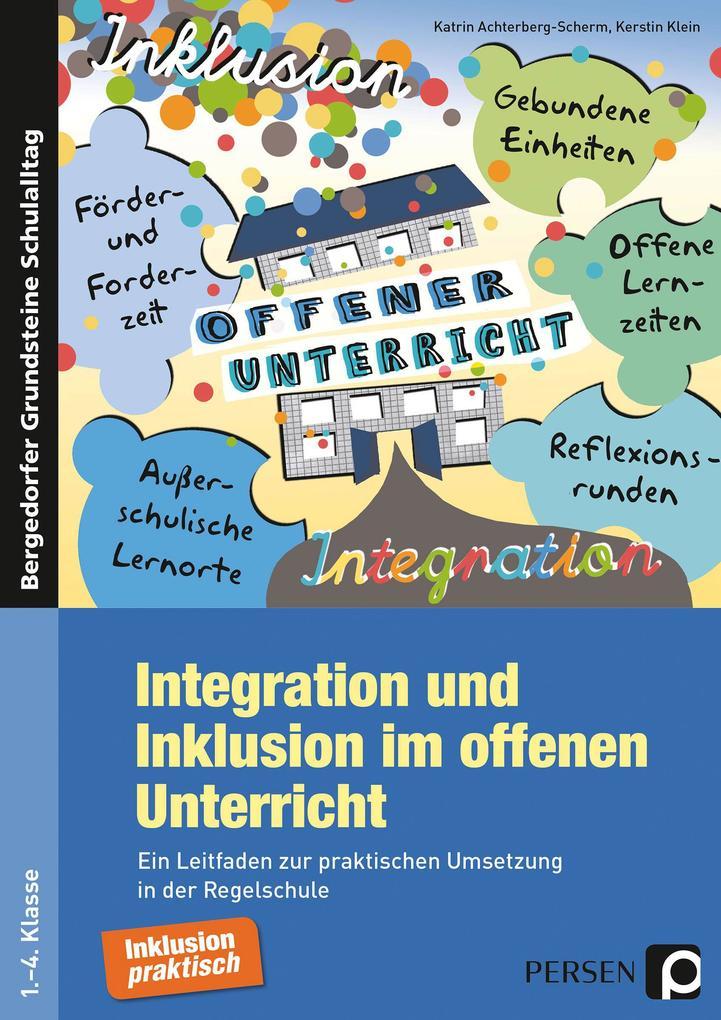 Integration und Inklusion im offenen Unterricht als Buch
