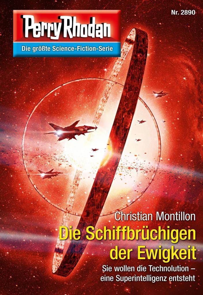 Perry Rhodan 2890: Die Schiffbrüchigen der Ewigkeit (Heftroman) als eBook