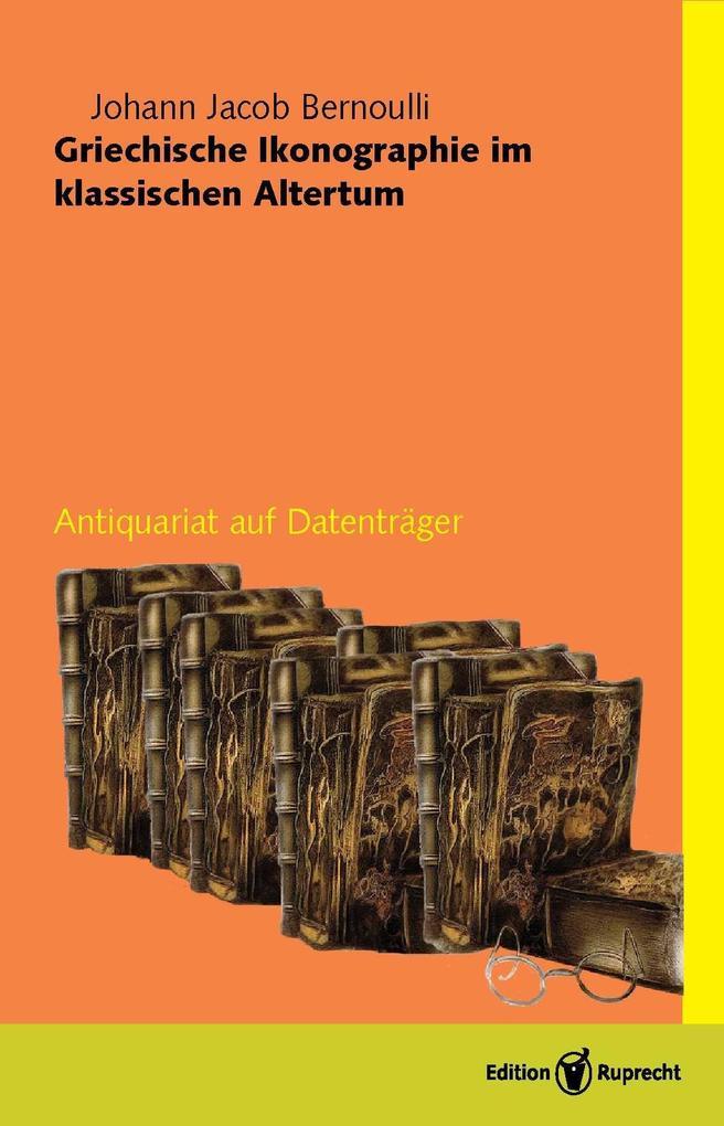 Griechische Ikonographie im Klassischen Altertum als eBook
