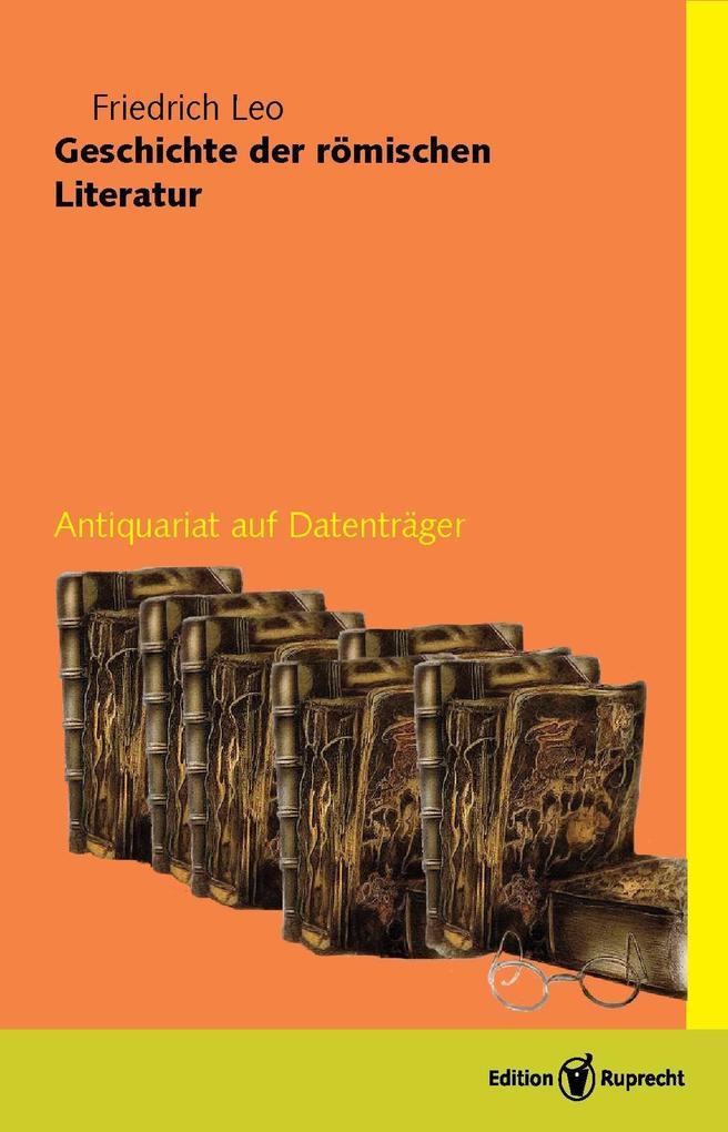 Geschichte der römischen Literatur als eBook