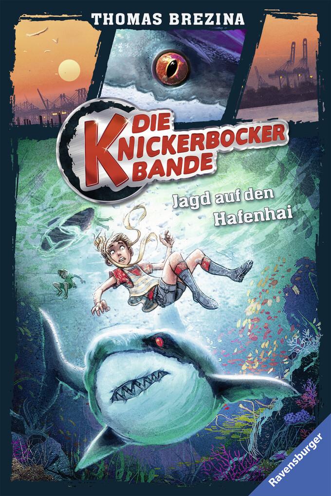 Die Knickerbocker-Bande 12: Jagd auf den Hafenhai als eBook