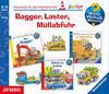 Bagger, Laster, Müllabfuhr