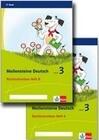 Meilensteine. Deutsch. Rechtschreiben Paket Heft 1-2. Klasse 3. Ausgabe ab 2017