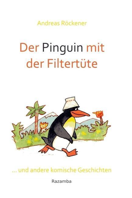 Der Pinguin mit der Filtertüte als Buch