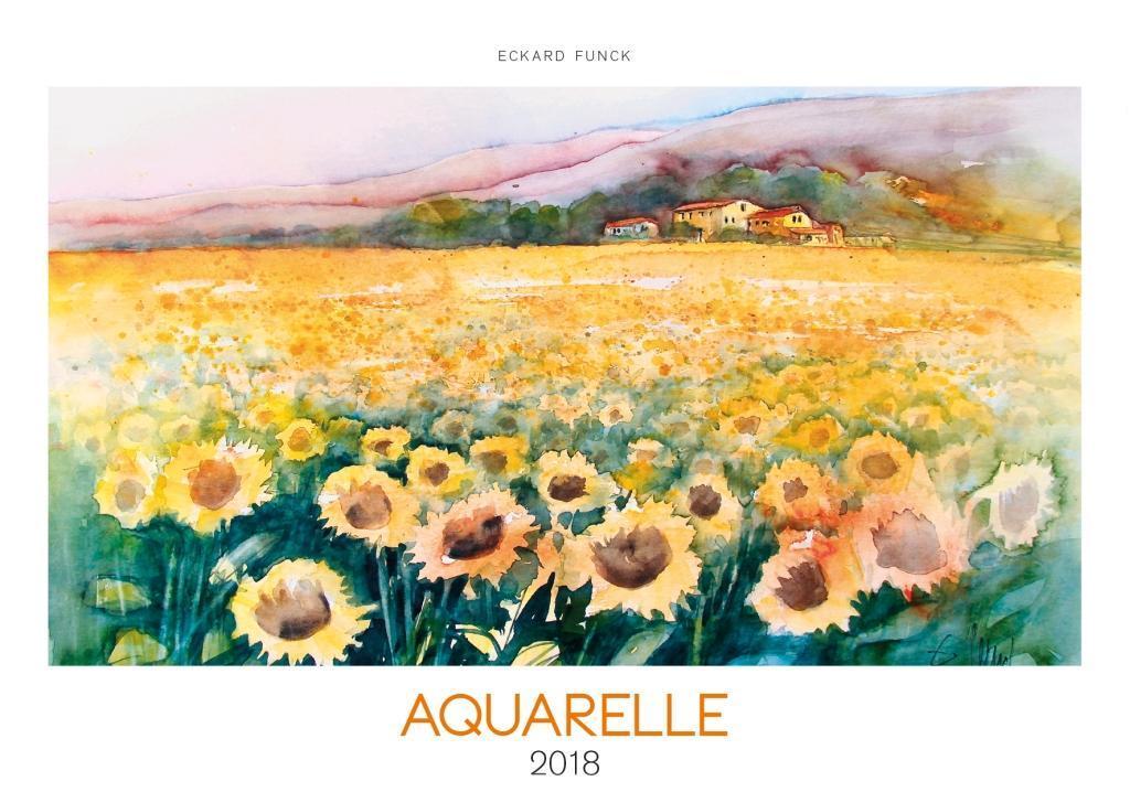 Aquarelle 2018 als Kalender