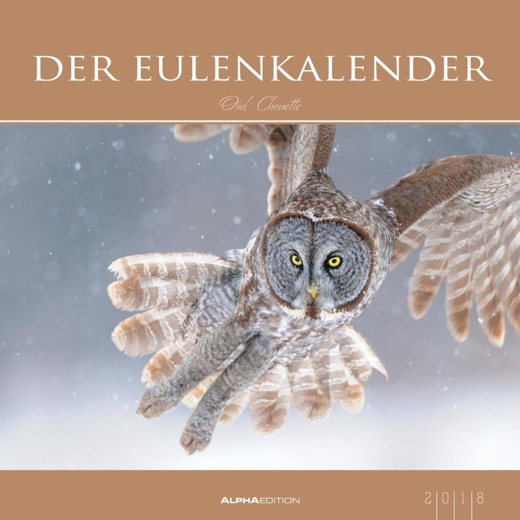 Der Eulenkalender 2018 als Kalender