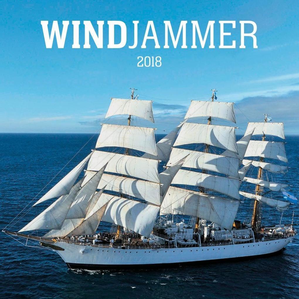 Windjammer 2018 als Kalender