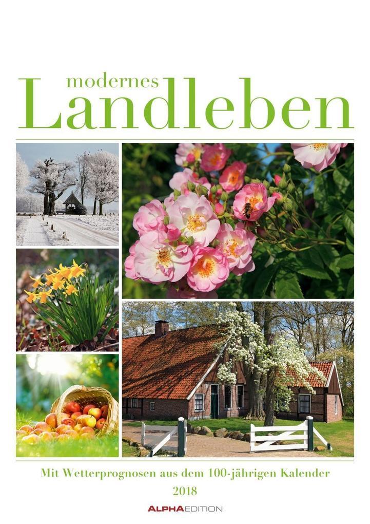 Modernes Landleben 2018 als Kalender