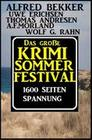 Das große Sommer Krimi-Festival: 1600 Seiten Spannung