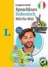 Langenscheidt Sprachkurs Italienisch Bild für Bild - Der visuelle Kurs für den leichten Einstieg mit Buch und einer MP3-CD