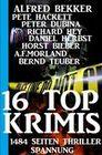 16 Top Krimis für den Sommer - 1484 Seiten Thriller Spannung