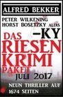 Das Riesen Krimi Paket Juli 2017 - Neun Thriller auf 1674 Seiten