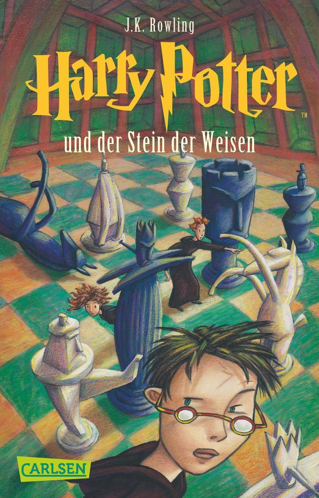 Harry Potter 1 und der Stein der Weisen als Taschenbuch