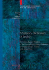 A Valency Dictionary of English