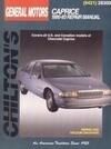 GM Caprice, 1990-93 1990-93 Repair Manual