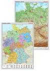 Posterkarten Geographie: Posterkartenset Deutschland