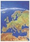 Europa Panorama. Wandkarte