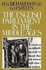 The English Parliament in the Middle Ages