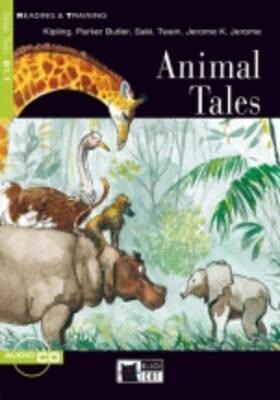 Animal Tales+cd als Taschenbuch