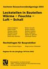 Aachener Bausachverständigentage 2003
