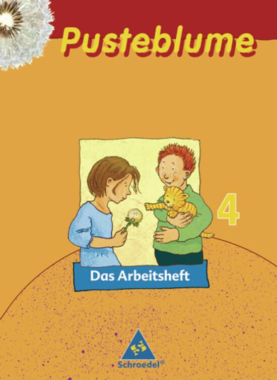 Pusteblume. Das Sprachbuch. 4. Arbeitsheft. Mitte / Nord als Buch