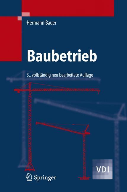 Baubetrieb als Buch