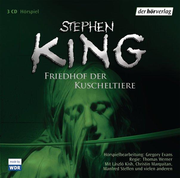 Der Friedhof der Kuscheltiere. 3 CDs als Hörbuch