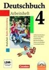 Deutschbuch 4: 8. Schuljahr. Arbeitsheft mit Lösungen und CD-ROM. Realschule Baden-Württemberg