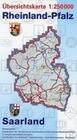 Gebietskarten Rheinland-Pfalz: Übersichtskarte Rheinland-Pfalz / Saarland 1 : 250 000