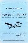 Pilot's Notes for Horsa I Glider