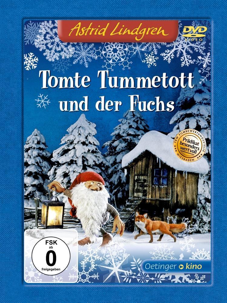 Tomte Tummetott und der Fuchs als DVD