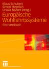 Handbuch Europäische Wohlfahrtssysteme