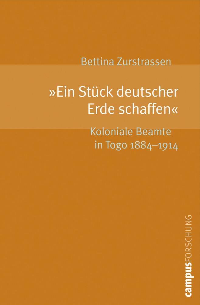 """""""Ein Stück deutscher Erde schaffen"""" als Buch"""
