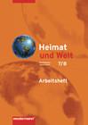 Heimat und Welt 7/8. Arbeitsheft. Mecklenburg-Vorpommern