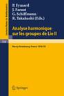 Analyse Harmonique sur les Groupes de Lie II
