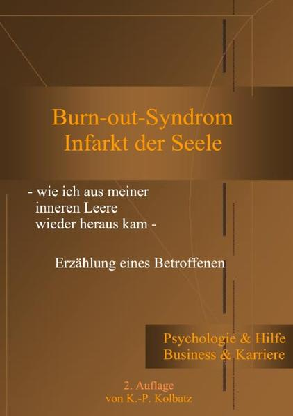 Burn-out-Syndrom als Buch