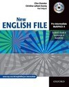 English File - New Edition. Pre-Intermediate. Student's Book. Workbook with Key und CD-Extra
