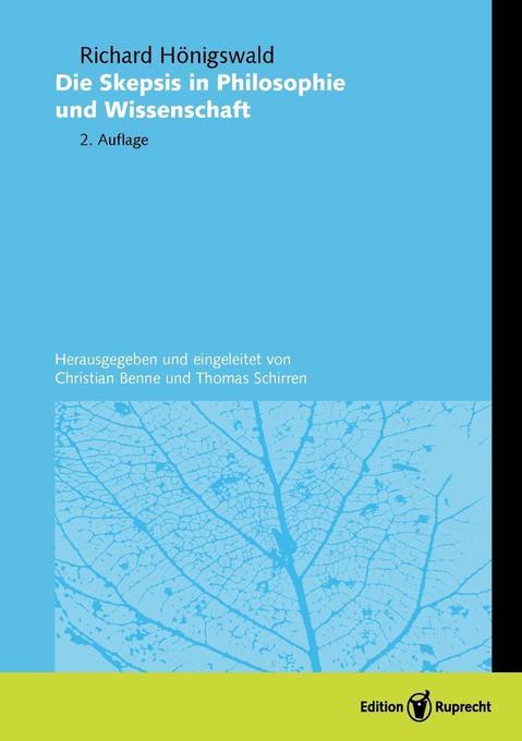 Die Skepsis in Philosophie und Wissenschaft als Buch