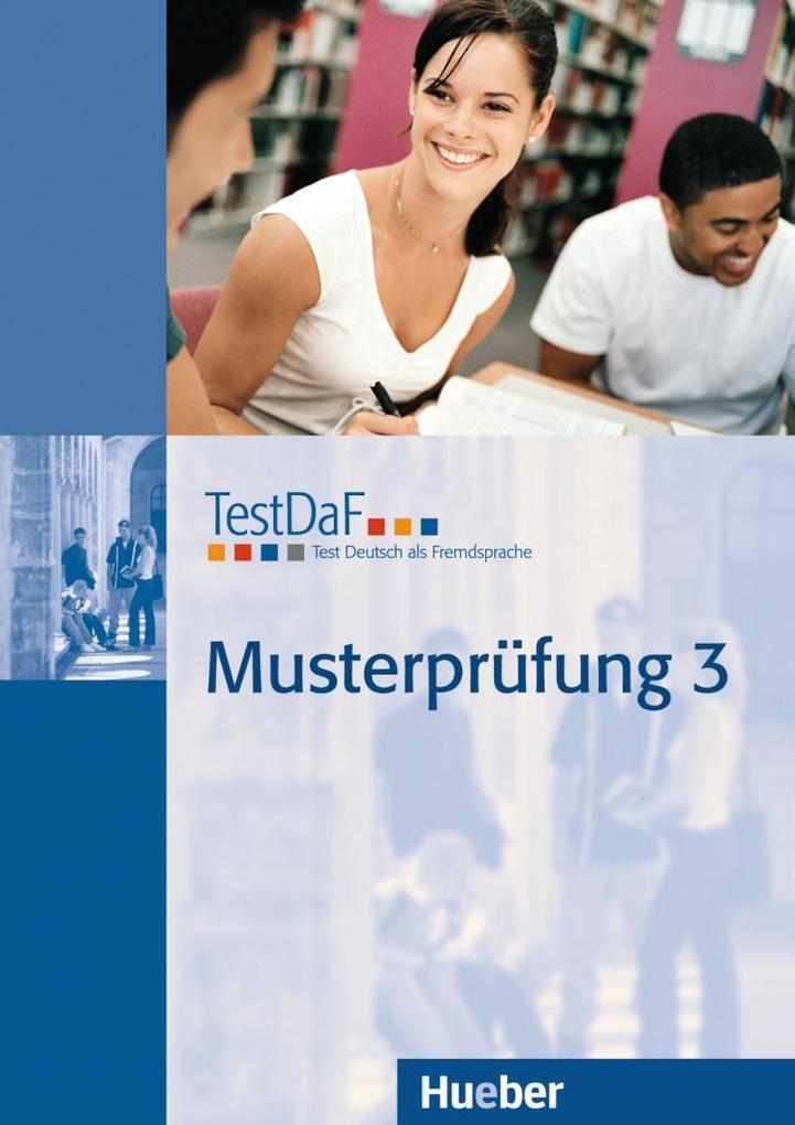 TestDaF Musterprüfung 3 als Buch
