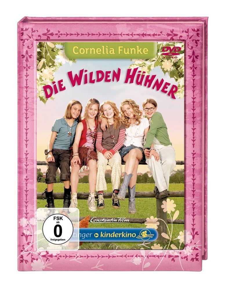 Die Wilden Hühner als DVD