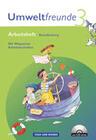 Umweltfreunde 3. Schuljahr. Neubearbeitung 2009. Arbeitsheft mit CD-ROM. Brandenburg