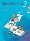 Sprachfreunde 3. Schuljahr. Sprachbuch. Ausgabe Nord (Berlin, Brandenburg, Mecklenburg-Vorpommern)