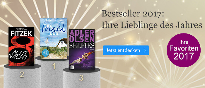 Die Jahresbestseller 2017 bei eBook.de