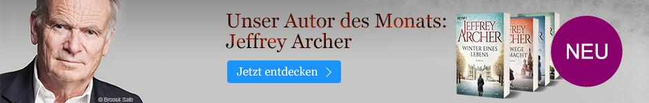 Unser Autor des Monats: Jeffrey Archer