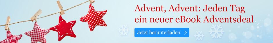 Die Adventsdeals vom 1. bis zum 24. Dezember bei eBook.de
